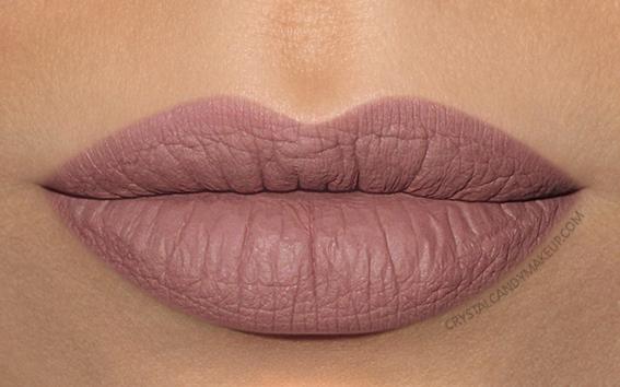 Make Up For Ever Artist Liquid Matte Lip Color Swatch 105 Rosewood