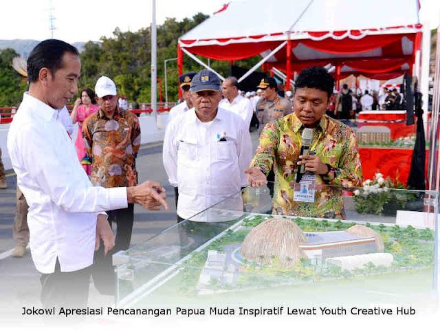 Jokowi Apresiasi Pencanangan Papua Muda Inspiratif Lewat Youth Creative Hub