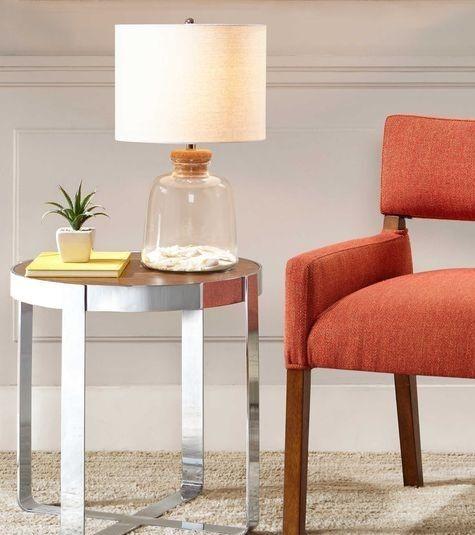 Fillable Glass Table Lamps & Jars - Coastal Decor Ideas ...