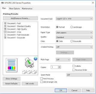 Cara menggunakan printer Epson L360