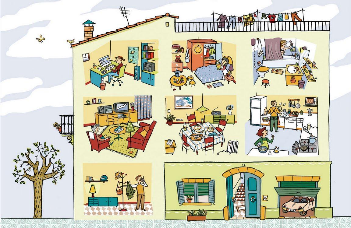 Esos locos bajitos de infantil tipos de casas for Oggetti x la casa da regalare