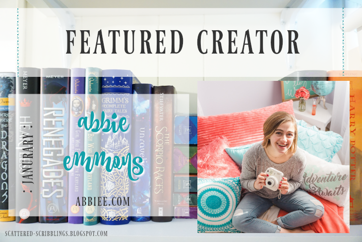 Featured Creator - Janurary // ABBIE EMMONS [post title image]