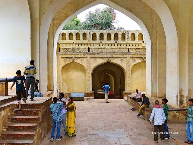Clapping Portico, Golkonda Fort, Hyderabad