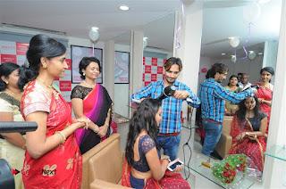 Telugu Actress Bhanu Sri Stills in Lehenga Choli at Anoo's Salon Launch at Ongole  0026.jpg