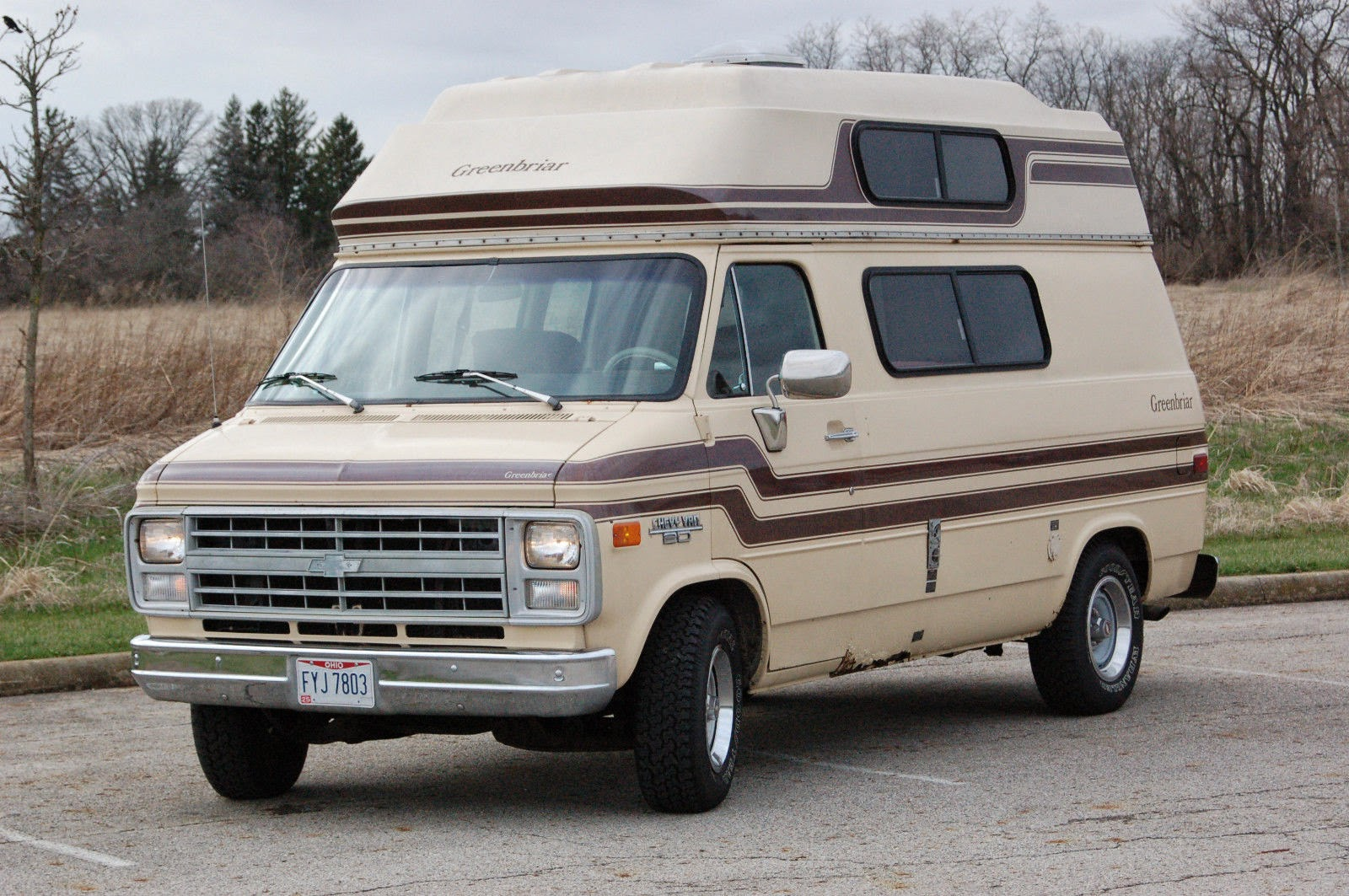 all american classic cars  1985 chevrolet g20 chevy van conversion van