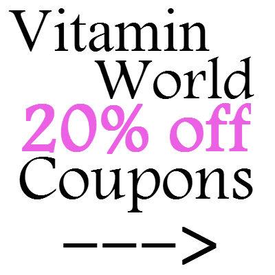 vitamin world promo code 2019