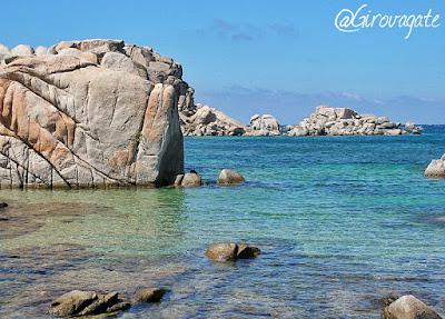 spiaggia isola Lavezzi Corsica