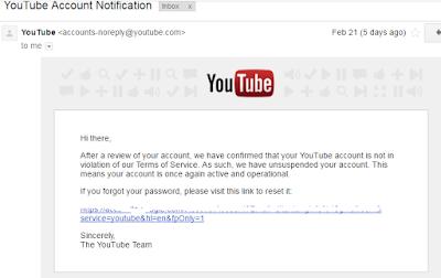10 Tips dan Cara Mengembalikan Akun Youtube Yang Terkena Suspend Lengkap Dengan Dolarnya