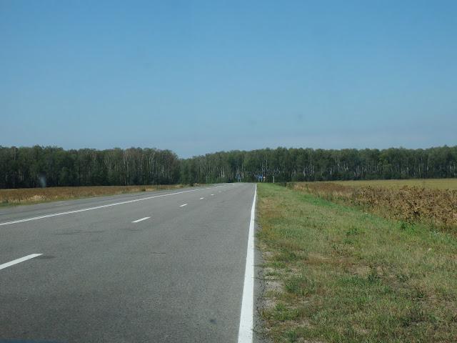 Jedna z główniejszych dróg na Ukrainie
