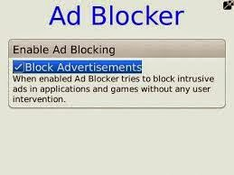 Install free Ad Blocker to block advertisements on your