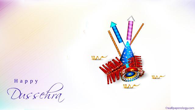 Colorful Happy Dussehra Festival Images