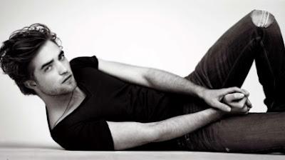 Foto de Robert Pattinson en sesión fotográfica