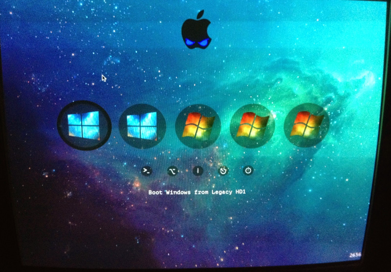 Dual boot Yosemite & Windows 8 1 with Clover Boot Loader