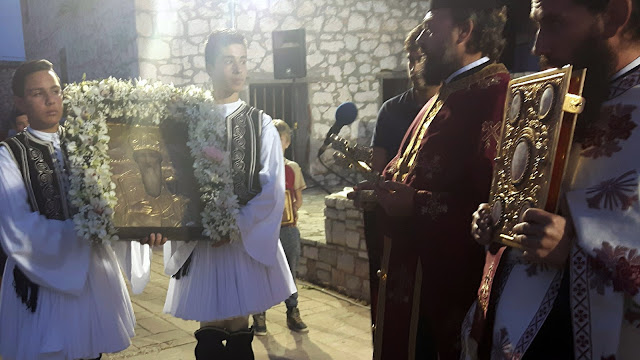 Στο Αραχναίο γιόρτασαν τον Άγιο Αθανάσιο
