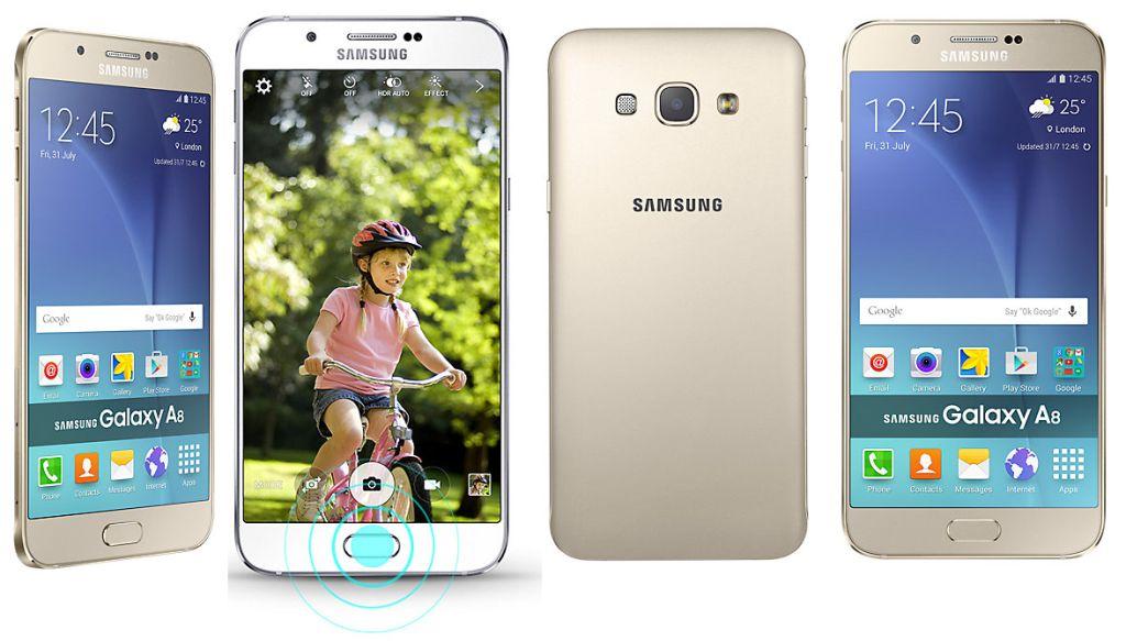 Samsung Galaxy A8 beserta fitur dan spesifikasi lengkap