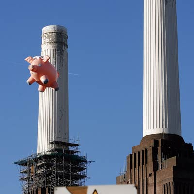 Top World News: Flying pig used to recreate Pink Floyd