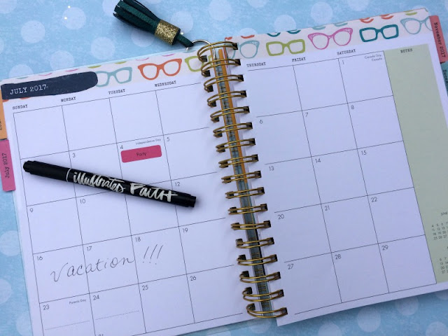 Personalize your Illustrated Faith Agenda Planner with a Faux Leather DIY Tassel.