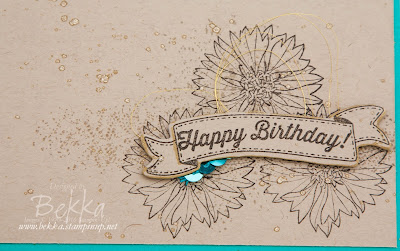 Touches of Texture Floral Birthday Card made with supplies from Stampin' Up! UK.  Buy Stampin' Up! UK here
