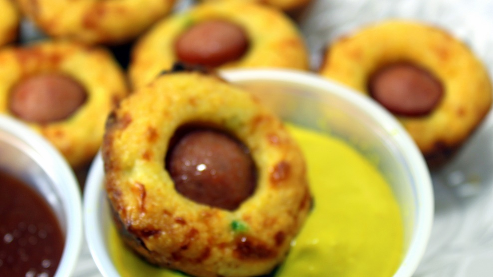 52 Ways to Cook: CORN DOG Jalapeno Cheddar Cornbread Mini ...