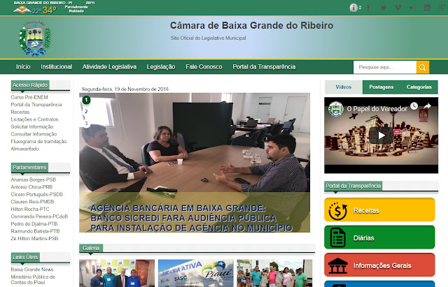Câmara de Baixa Grande do Ribeiro