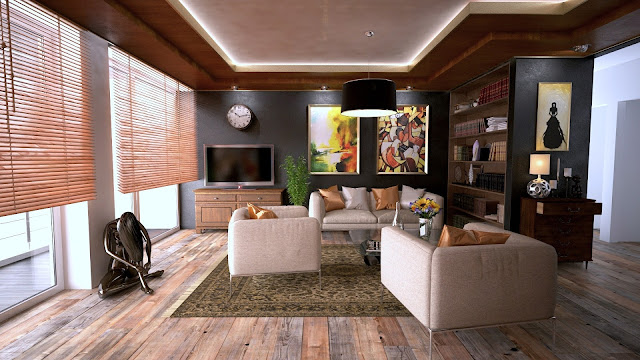 INTERIOR DECORATION FOR CREATING IMMACULATE SENSE AND SERENITY
