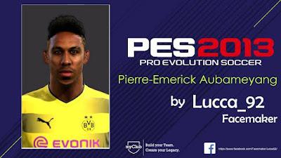 PES 2013 Aubameyang Face
