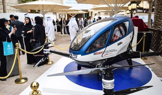 DUBAI COMENZARÁ A USAR DRONES PARA TRANSPORTAR PASAJEROS