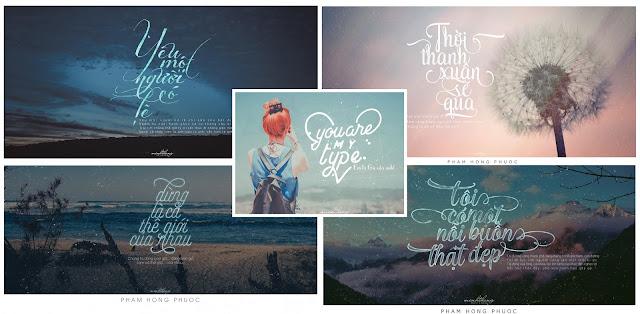 Typography đẹp
