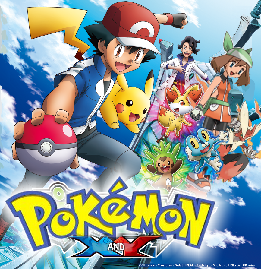 Pokemon And Y Cartoon Characters : Pokémon the series xy hindi episodes hungama tv