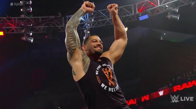 Roman's Leukemia is in remission !! - The big Dog is finally back on Raw !!