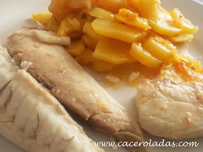 Fabulosa receta de doradas al horno con patatas.... Una receta muy sana y fácil, que es estupenda, ya que no contiene mucha grasa, por decir casi nada.