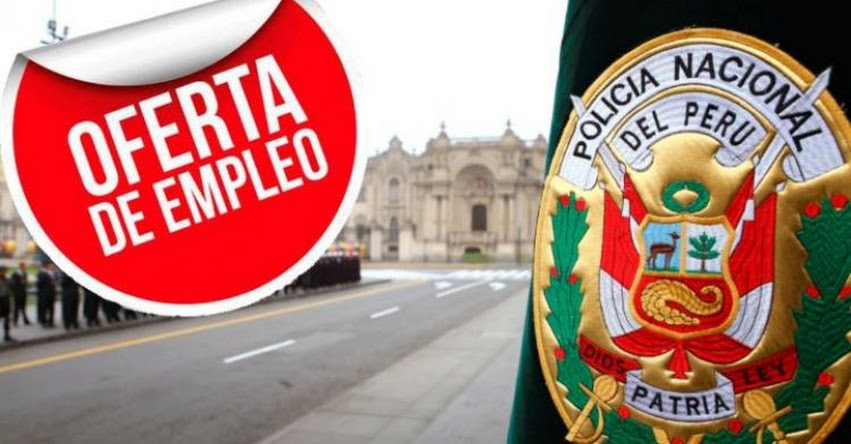 PNP: Convocatoria CAS con sueldo de S/ 1.200 hasta S/ 5.000 - www.pnp.gob.pe