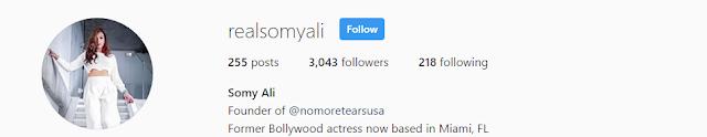 Somy Ali Instagram