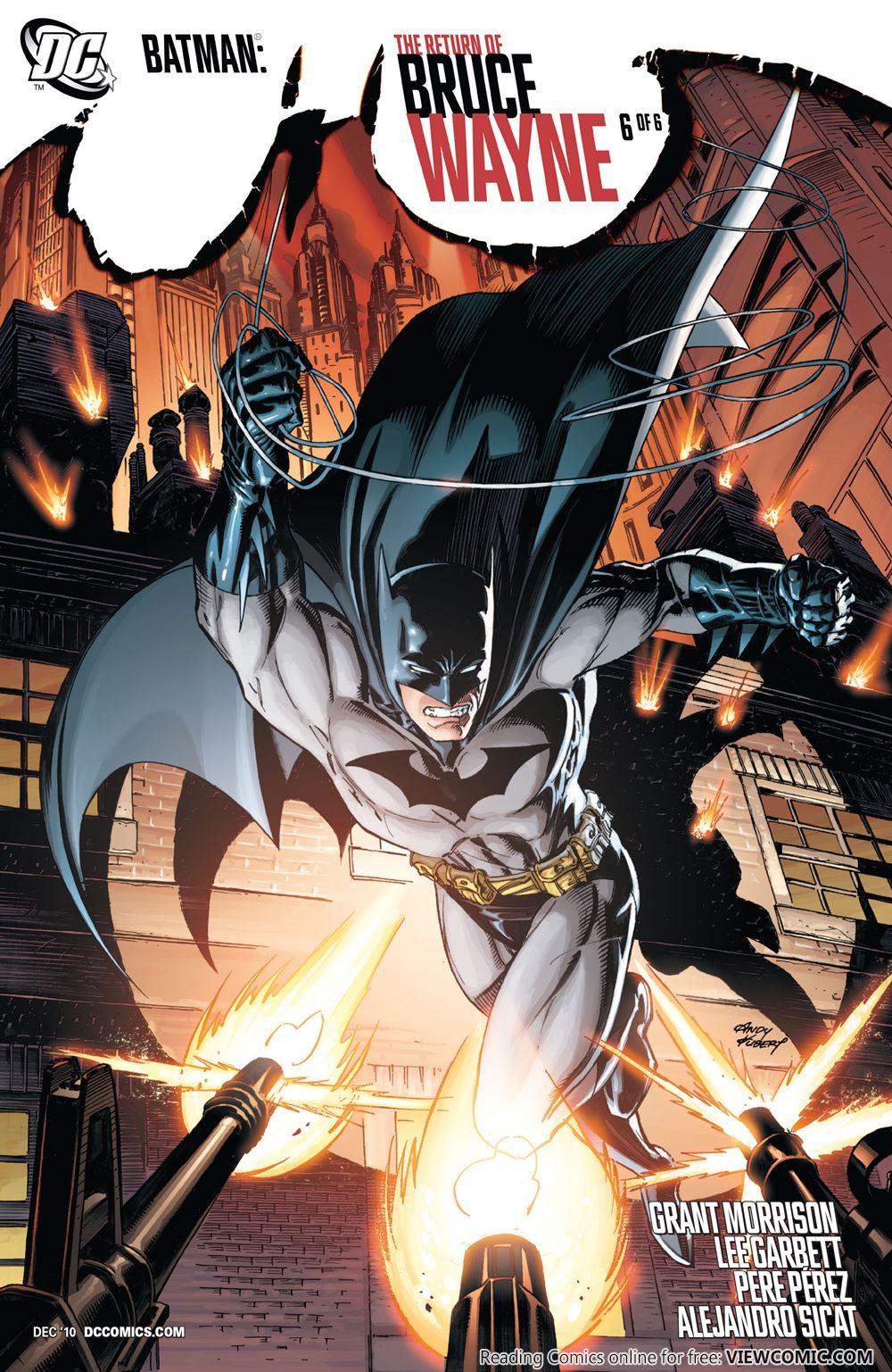 Batman – The Return of Bruce Wayne | Viewcomic reading comics online