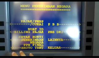 Cara Bayar Pajak Online Via ATM Mandiri