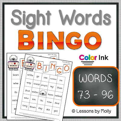 https://www.teacherspayteachers.com/Product/sight-words-BINGO-words-73-through-96-COLOR-ink-708671