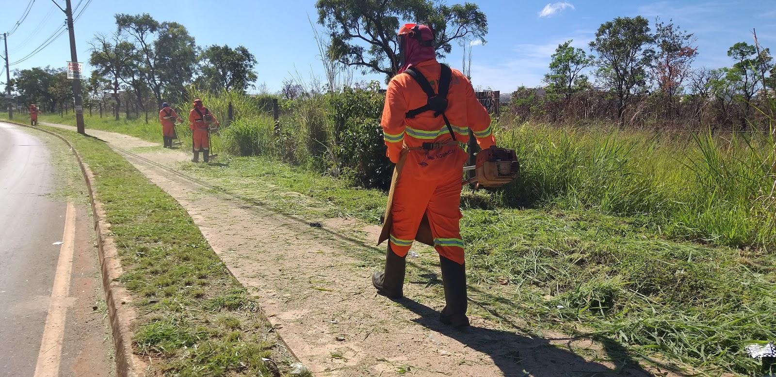 20190114 101708 - O administrador regional do Jardim Botânico, João Carlos Lóssio lançou, nesta segunda feira, ações de limpeza nas ruas que acontecerão de 14 a 16 de janeiro de 2019. SOS DF