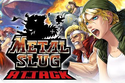 Metal Slug Attack v5.17.2 Mod Apk for Android (Unlimited Attack Point)
