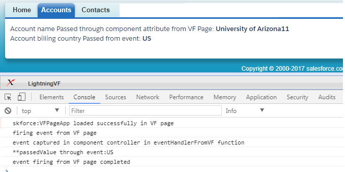 Salesforce Stuff: How to Fire Lightning Events from VF Page