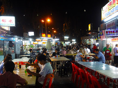 Pulau Pinang Night fun at Gurney Drive food court