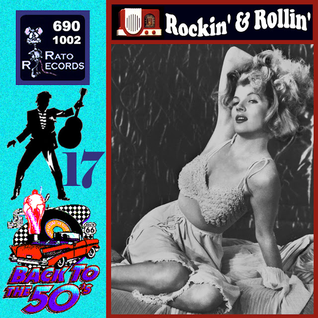 Cd collection Back To The 50's - Rockin' & Rollin' 17 Front