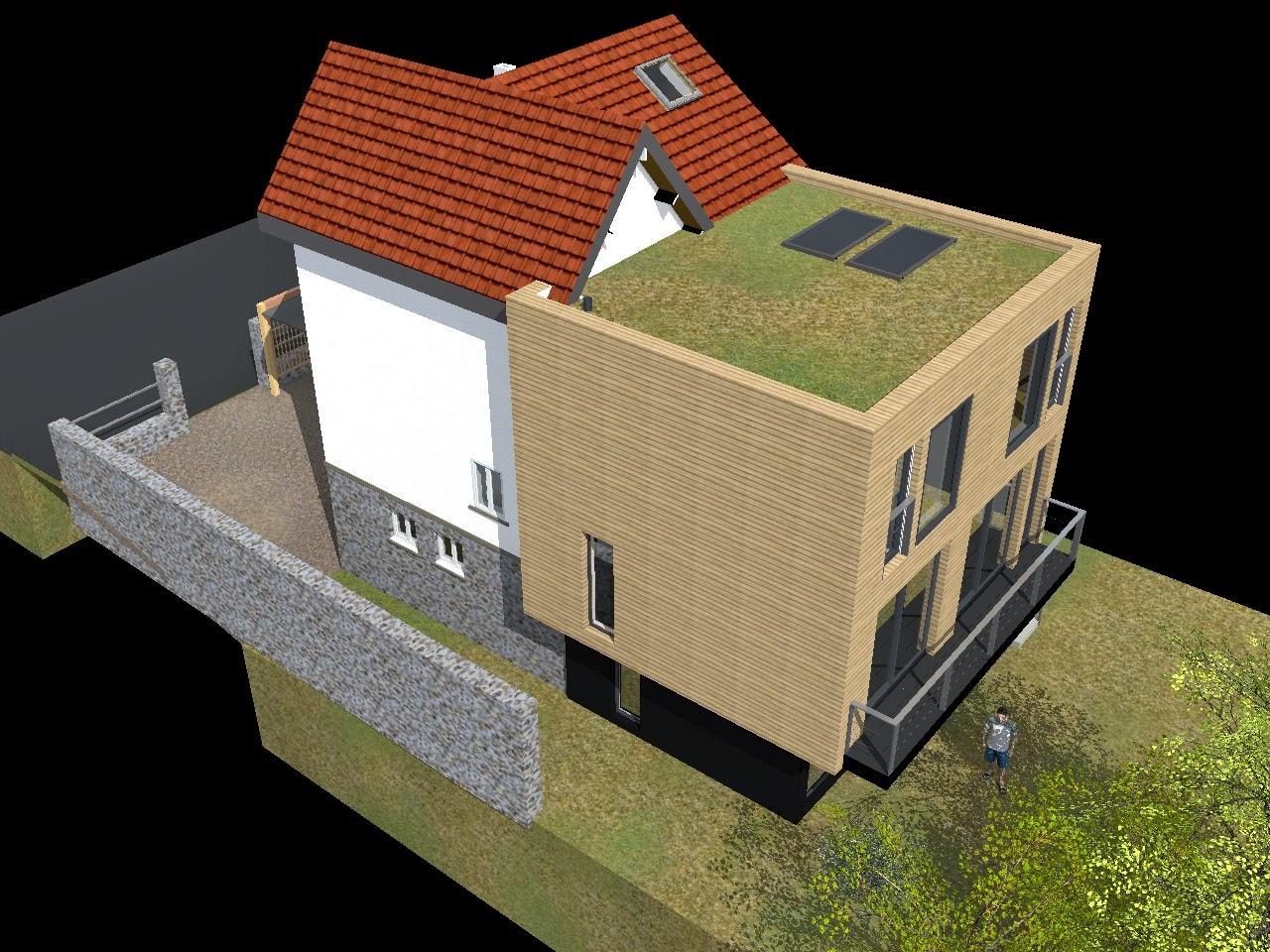 extension bois rueil malmaison architecte maison bois paris alsace. Black Bedroom Furniture Sets. Home Design Ideas