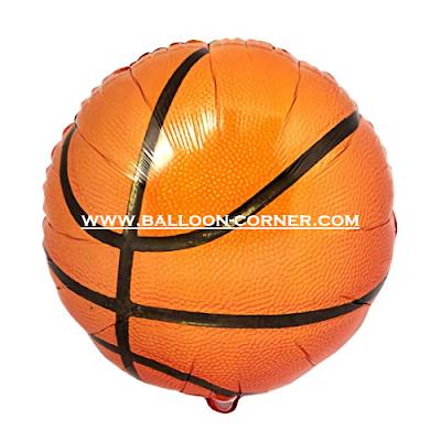 Balon Foil Bola Basket
