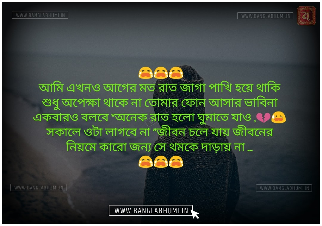 Facebook Bangla Sad Love Shayari Status
