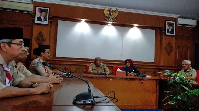 Kwarcab Sleman Sampaikan Persiapan Sub Camp KBPJ 2019