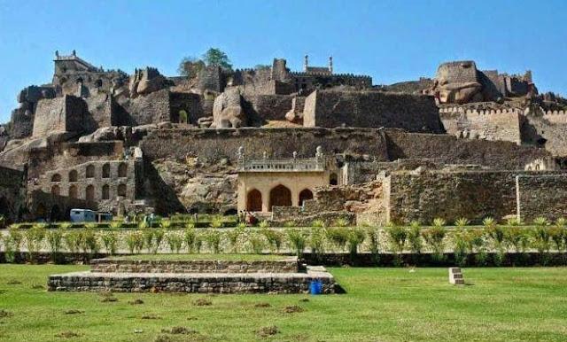 Golconda fort and dark souls