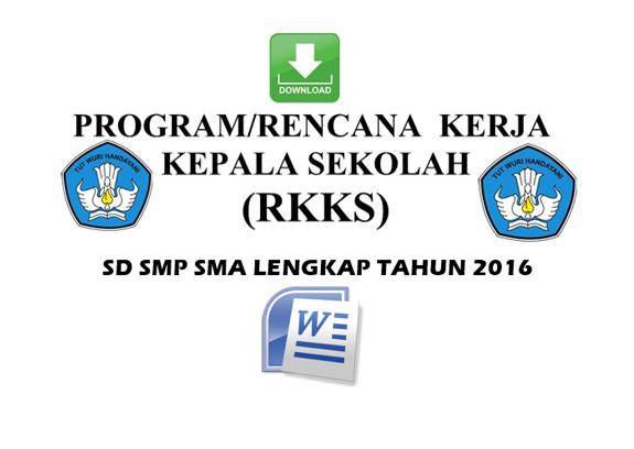 Download Program Rencana Kerja Kepala Sekolah File Terbaru