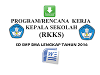 Download Program Rencana Kerja Kepala Sekolah Revisi
