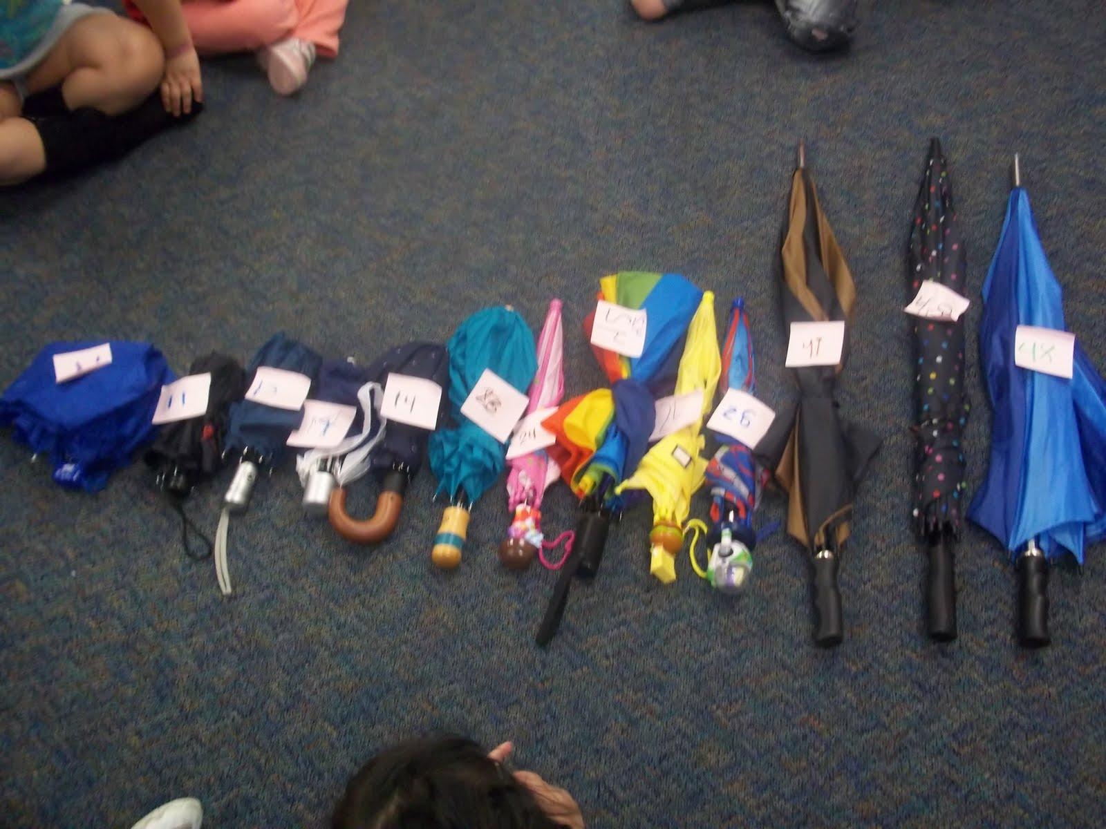 Mrs Wood S Kindergarten Class Umbrella Day