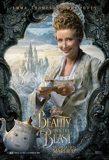 Beauty and the Beast (2017) Poster Emma Thompson
